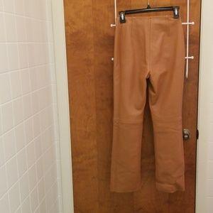 Dkny Pants & Jumpsuits - Lambskin Leather Pants